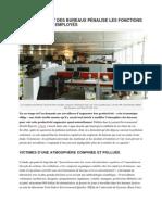 Le Confinement Des Bureaux Pénalise Les Fonctions Cognitives Des Employés