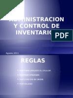 Administracion y Control de Inventarios