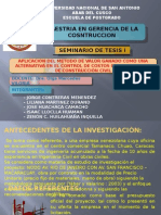 Diapositivas de Tesis i Trabajo Grupo i
