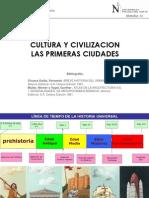 01. Cultura y Civilizacion Las Primeras Ciudades
