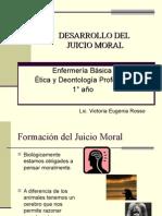 Desarrollo Del Juicio Moral Enfrmeria Basica II