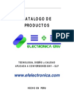 Catalogo Produstos Electronica GNV