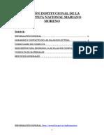 SECCIÓN INSTITUCIONAL DE LA BIBLIOTECA NACIONAL MARIANO