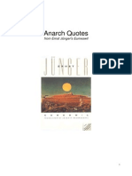 Anarch Quotes from Ernst Junger