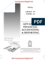 Advanced Financial Accounting & Reporting study material download free