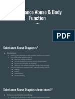 how does substance abuse effect your body