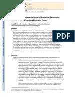 Biosocial Developmental Model of BPD OBLIGATORIU