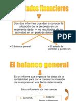 Balance General y Estado de Resultados