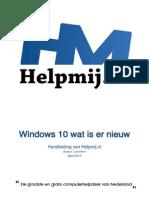 Windows 10 Wat is Er NieuwHM