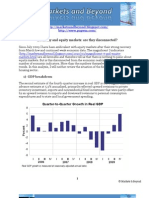 Economy and equity markets