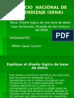 Diseño Lógico de La Base de Datos