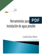 Herramientas Para La Instalación de Agua Potable