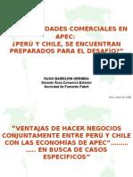 Presentacion APEC  - Hugo Baierlein Sofofa