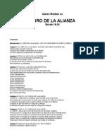 Mesters Carlos - Libro de La Alianza - Exodo 19 - 24