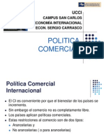 Politica Comercial