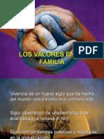 Los Valores en La Familia