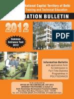 Information Bulletin 2012 Poly