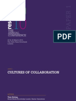 Cultures Of Collaboration