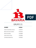 Bavaria Grupo 21 Segunda Entrega