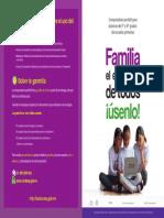 para la Familia folleto