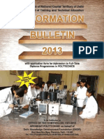 Information Bulletin 2013 Poly