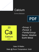 calcium- emma babaian