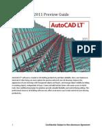 Autocad LT 2011 Preview Guide
