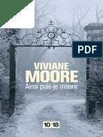 Ainsi Puis-je Mourir - Moore, Viviane