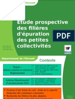 Etude Prospective Des Filieres d Epuration JP.sambucco