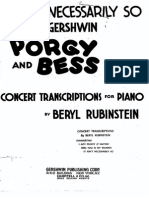 Gershwin - Porgy and Bess - It Aint Necessarily So