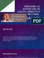 Síndrome de Aspiración de Liquido Amniótico Meconial
