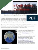 google earth across the curriculum