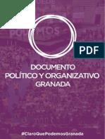20141201 Organizativo y Político CQP Granada Sin Blancas
