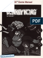 Donkey Kong - Manual - A78