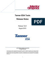 Tanner EDA Tools v16.3 Release Notes