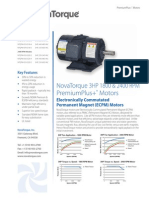 NovaT 3HP 1800 2400RPM Datasheet