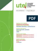 INDICADORES AMBIENTALES EN MEXICO