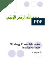 MGT Strategic Management Chap 8
