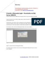 Criando e Alterando Login - Permissões No SQL Server