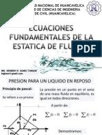 Hidrostatica mecanica de fluidos UNH