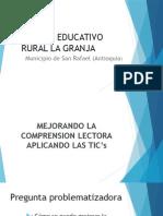 Presentacion Proyecto de Aula CER LA GRANJA SAN RAFAEL