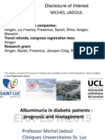 Albuminuria in Diabetic Patients