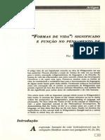 """""""FORMAS DE VIDA"""""""