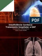 Edema Agudo de Pulmão e tratamento hospitalar da insuficiência cardíaca