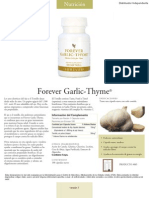 Forever Garlic Thyme Spa