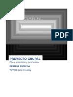 Etica Empresarial proyecto