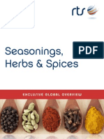 Seasonings, Herbs & Spices Exclusive 2014