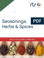 Seasonings, Herbs & Spices Exclusive 2014