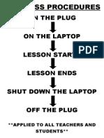 Ict Class Procedures