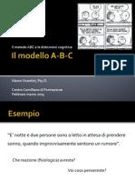 Il Modello ABC e Le Distorsioni Cognitive